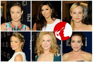 Gala Foreign Press: Najpi�kniejsze fryzury i makija�e gwiazd