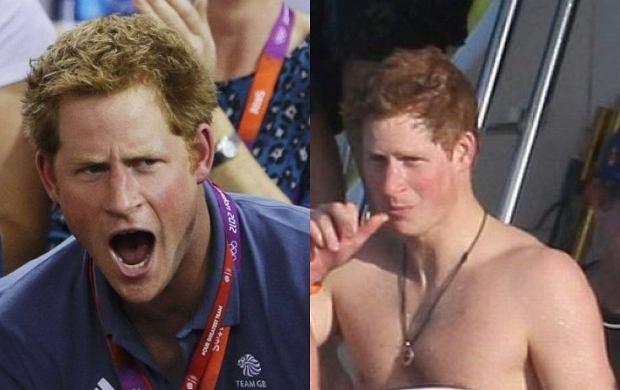 Nagie zdjęcia księcia Harry'ego! Spędził imprezowy weekend ...