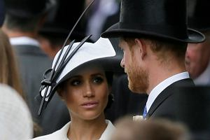 Meghan Markle i książę Harry na Royal Ascot 2018