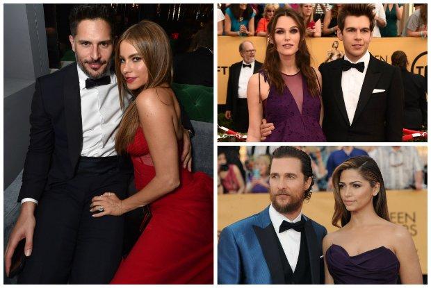 SAG Awards 2015: najbardziej urzekaj�ce pary czerwonego dywanu