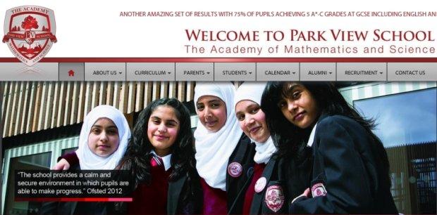 Park View - jedna ze szk�, kt�re - jak wynika z raportu - faworyzuje uczni�w wyznaj�cych islam