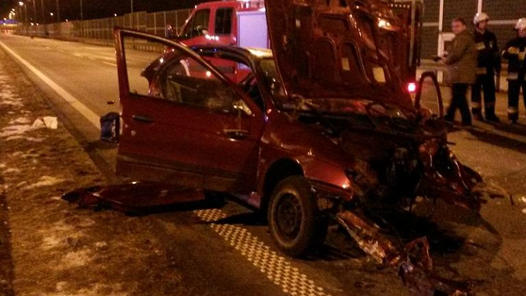 Tragiczny wypadek na autostradzie