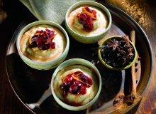 Piernikowy budy� jaglany z sosem �urawinowym - ugotuj
