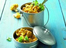 Curry kalafiorowo-drobiowe znerkowcami - ugotuj