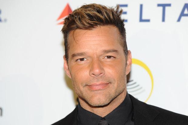 (Ricky Martin na imprezie Rising Stronger