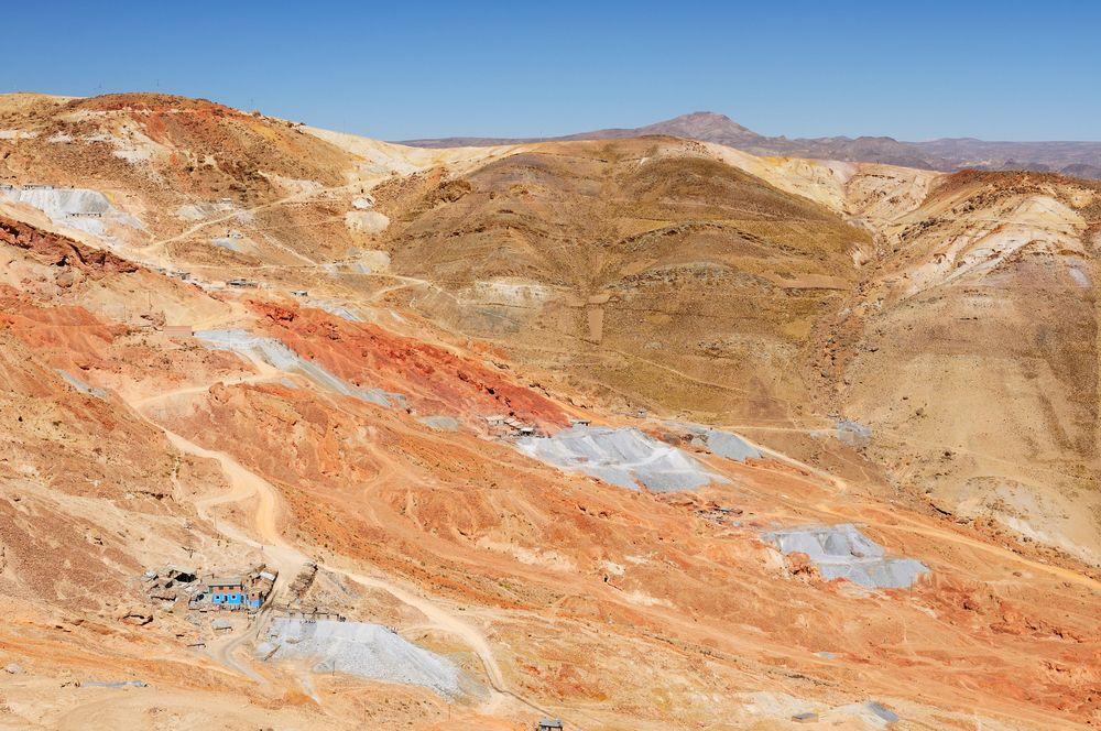 Góra Cerro Rico, Boliwia / fot. Shutterstock
