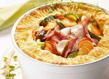 Warzywa zapiekanwe w ziemniaczanym cieście - ugotuj