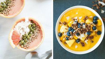 Smoothie bowl to doskonały pomysł na lekki i zdrowy posiłek
