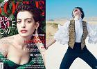 """Anne Hathaway w obiektywie Annie Leibovitz dla """"Vogue"""" - oryginalna sesja, ale czy udana?"""