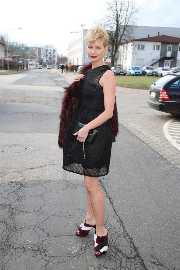 Ramowka TVP2, 25.02.2016, fot.WBF, na zdj. Malgorzata Kozuchowska