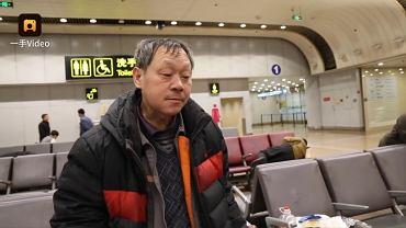 Wei Jianguo już prawie 10 lat mieszka na lotnisku