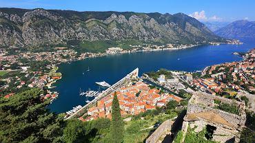 Widok na miasto Kotor