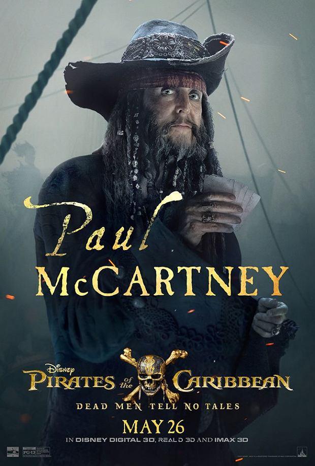 Paul McCartney w roli pirata