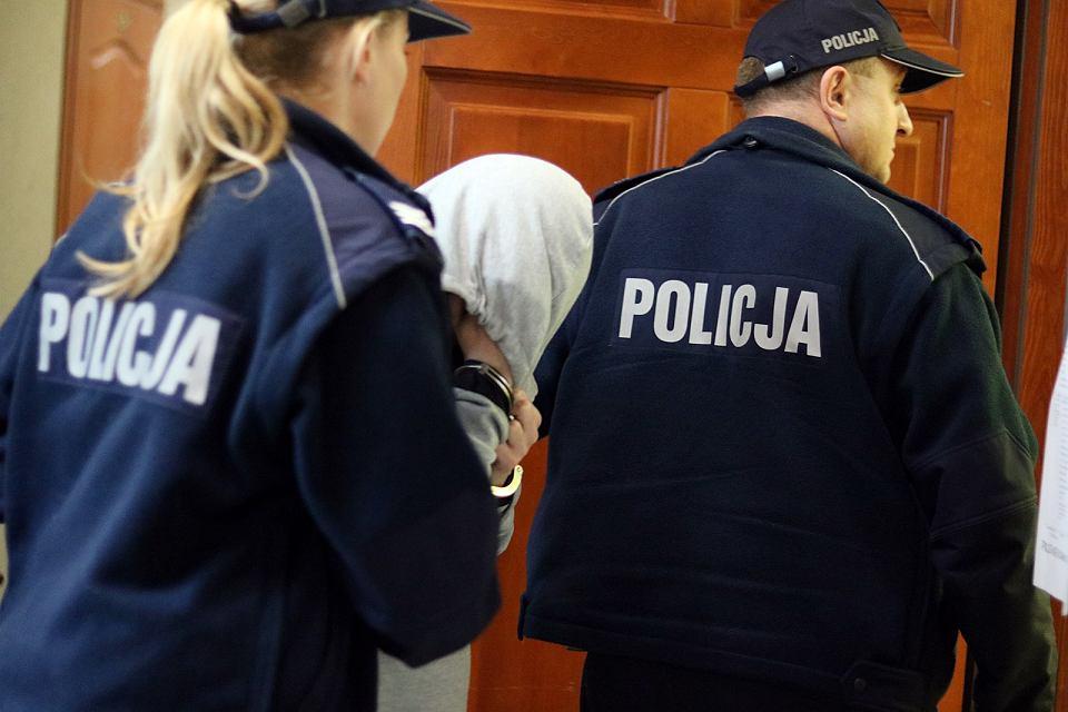 Podejrzany o gwałt/zdjęcie ilustracyjne