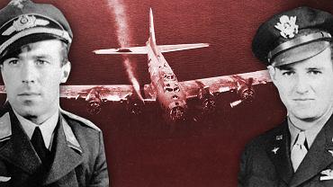Niemiecki pilot mia� go zestrzeli�, ale uratowa� mu �ycie. Musieli o tym milcze�, spotkali si� po wojnie