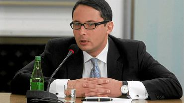Michał Chyczewski podczas przesłuchania w charakterze świadka przez śledczą komisję hazardową. Sejm, 4 marca 2010 r.
