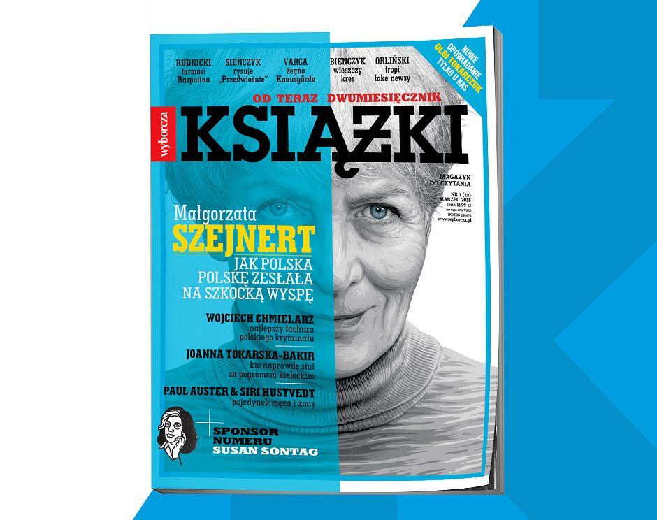 Książki. Magazyn do czytania, nr 1 marzec 2018 - okładka
