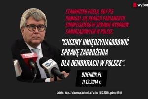 """Czarnecki vs. Czarnecki. Kiedy """"donoszenie"""" do Parlamentu Europejskiego jest dobre, a kiedy z�e"""