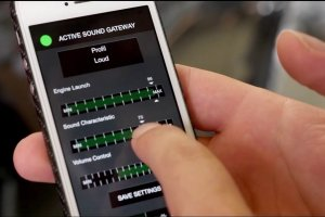 Hamann | Regulacja g�o�no�ci silnika za pomoc� telefonu