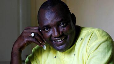 Adama Barrow, zwycięzca wyborów prezydenckich w Gambii