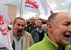 G�rniczy emeryci ��daj� deputatu i gro�� drugim Majdanem