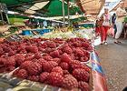 Owoce na targu w Poznaniu