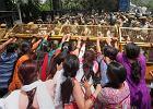 Protesty w Delhi po gwa�cie na pi�ciolatce