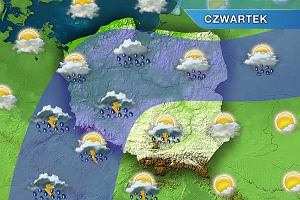 Nadchodzą deszczowe dni. W weekend gwałtowne burze w całej Polsce [POGODA]