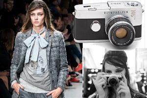 T-shirty i kurtki z nowej kolekcji Łukasza Jemioła inspirowane kultowym aparatem