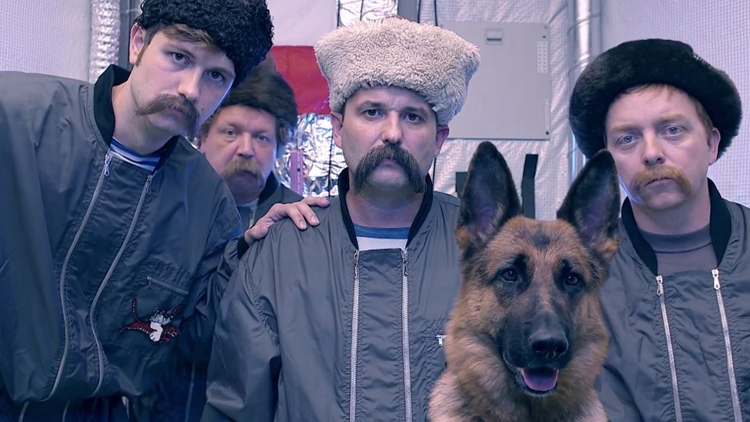 Polacy. Kadr z serialu ''Kosmo''