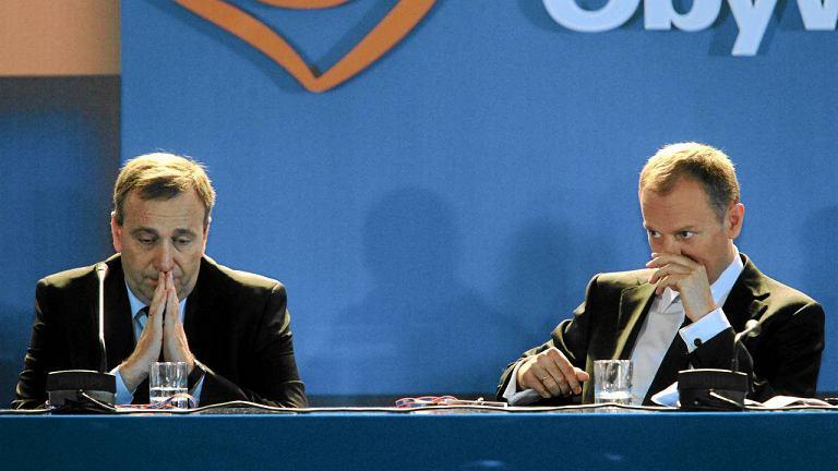 Grzegorz Schetyna i Donald Tusk