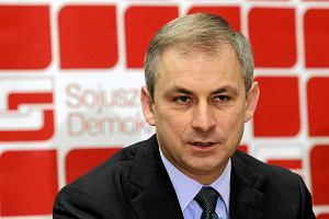 Napieralski zawieszony w prawach cz�onka SLD. Bo m�wi�, �e to koniec partii