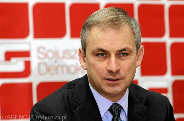 Napieralski zawieszony w prawach członka SLD. Bo mówił, że to koniec partii