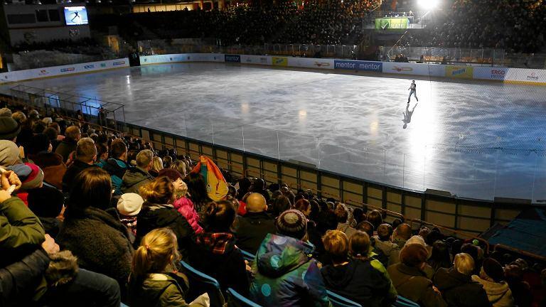Gala łyżwiarska w styczniu 2015 r.