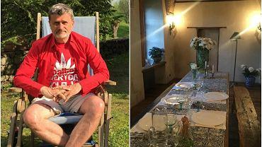 Janusz Palikot wciąż kursuje między swoimi trzema domami: jednym w centrum warszawy, drugim na lubelskiej starówce i tym najbardziej urokliwym - na Suwalszczyźnie. Położona na totalnym odludziu rezydencja to najlepsze miejsce na relaks i odpoczynek. Zobaczcie, jak stylowo prezentuje się w środku.