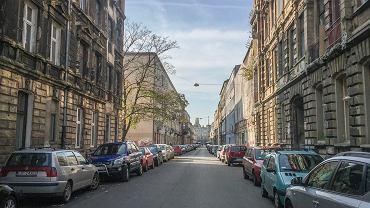 Ulica Włókiennicza w przeddzień rewitalizacji