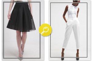 Czarna czy bia�a? Wybierz stylizacj� dla siebie!