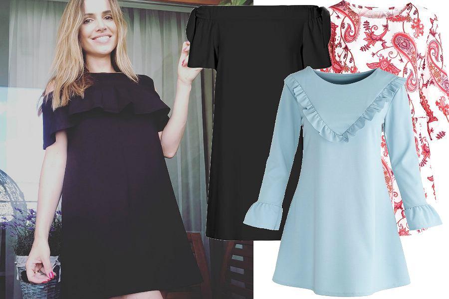 ede24d5f91 Sukienki oversize z wyprzedaży  czarna w stylu Żmudy-Trzebiatowskiej czy w  kwiaty  Mamy piękne modele na lato!
