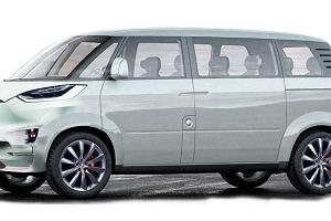 Tesla | Minibus w drodze