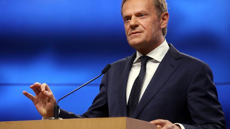 'Wierzę w dobre intencje organizatorów wiecu poparcia dla mnie, ale uważam, że data 10 kwietnia jest wysoce niefortunna' - napisał dziś na Twitterze szef Rady Europejskiej Donald Tusk.