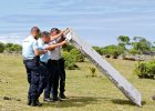 BBC: Ocean wyrzuci� drugi fragment samolotu. To mo�e by� malezyjski boeing