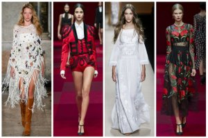 Milan Fashion Week: Przepych, nawi�zanie do hiszpa�skiej estetyki, nowoczesne etno i romantyczne boho. Czyje kolekcje nas zachwyci�y? [ZDJ�CIA]