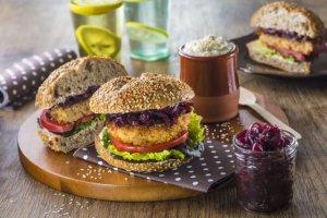Burger z kaszy j�czmiennej - wed�ug Babci Zosi