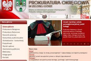 Pr�gierz internetowy. Prokuratorzy z Zielonej G�ry publikuj� w sieci list� skazanych