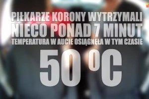 """""""My�l - Nie zamykaj!"""" Akcja pi�karzy Korony Kielce"""