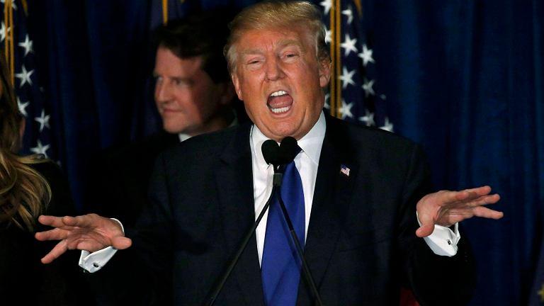 Donald Trump po prawyborach w New Hampshire