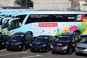 Kia przekaza�a flot� pojazd�w na Mistrzostwa �wiata w Brazylii