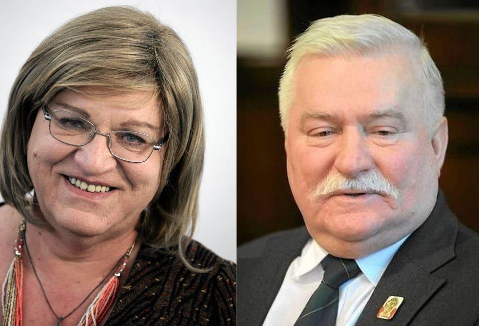 Anna Grodzka poinformowała, że działacze ze środowisk LGBTQ popierają Lecha Wałęsę i wyciągają do niego rękę na zgodę