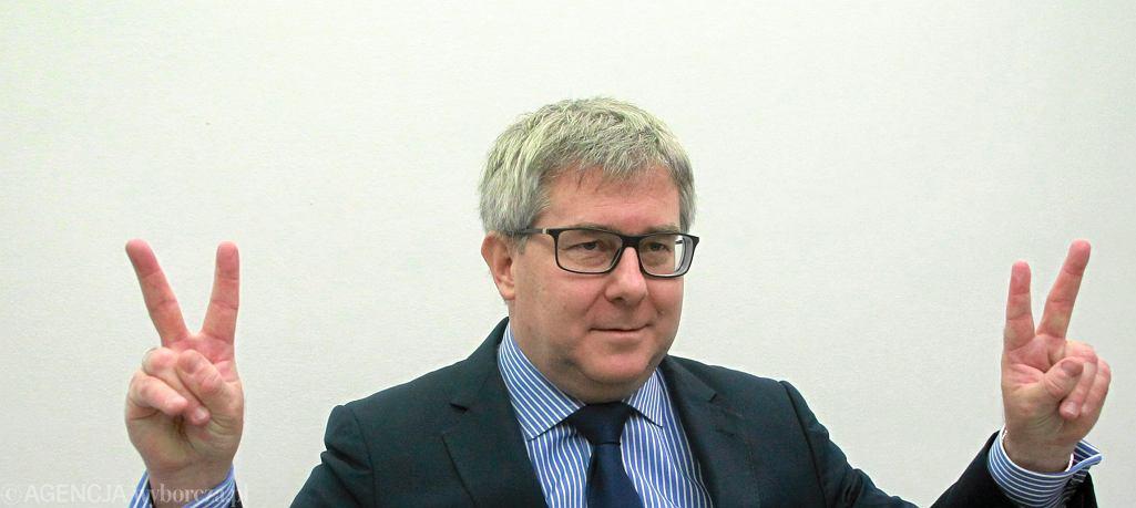 Europoseł PIS-u Ryszard Czarnecki