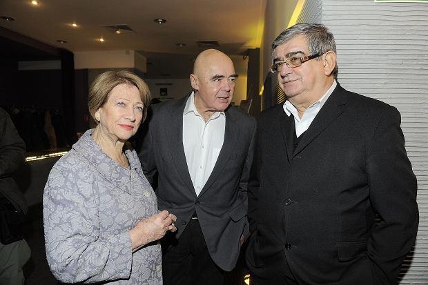 Barbara Borys-Damięcka, Stanisław Tym, Jerzy Derfel